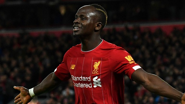 'I didn't know it': Mane with the most Mane-esque reaction to breaking into Liverpool's top 20 scorers - Bóng Đá