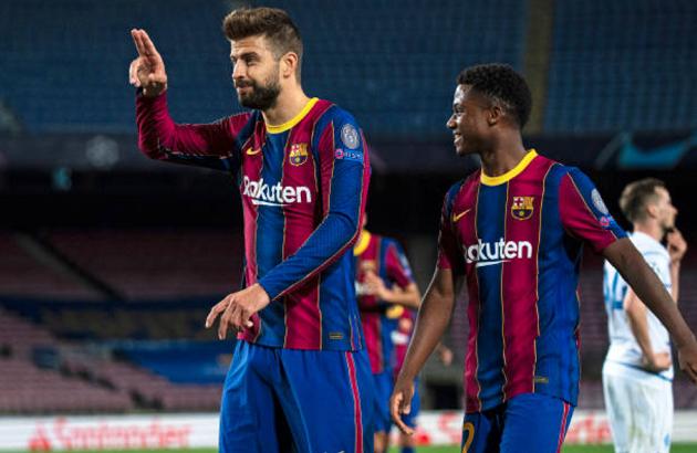 Nc247info tổng hợp: 'Cứu vớt' Barca, Gerard Pique đi vào lịch sử Champions League