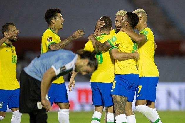 Uruguay - Brazil - Bóng Đá