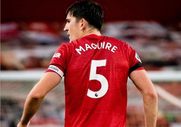 Harry Maguire registers highest aerial duel success rate across Europe's top-five leagues - Bóng Đá