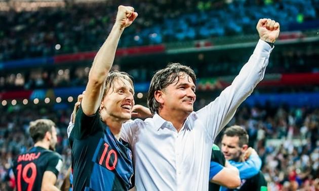 Modric: 'Croatia được thúc đẩy nhờ sự thiếu tôn trọng của nước Anh' - Bóng Đá
