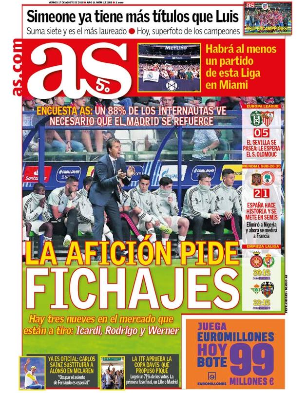 Thua đau Atletico, fan Real khẩn thiết