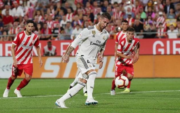Ramos lập kỷ lục khủng sau khi ghi bàn vào lưới Valladolid - Bóng Đá
