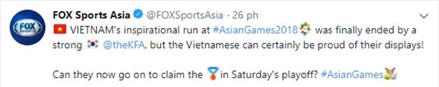 Dù thất trận, ĐT Olympic Việt Nam vẫn nhận được lời khen vì điều này - Bóng Đá