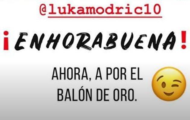 Thêm đồng đội tại Real ủng hộ Modric giành