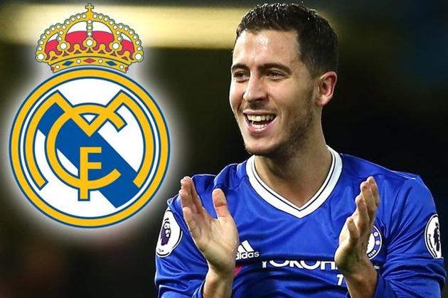Hazard đến Madrid để lấy