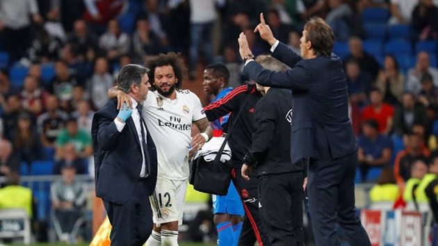 Thắng nhọc Plzen, Real nguy cơ mất trụ cột ở trận 'El Clasico' Marcelo - Bóng Đá
