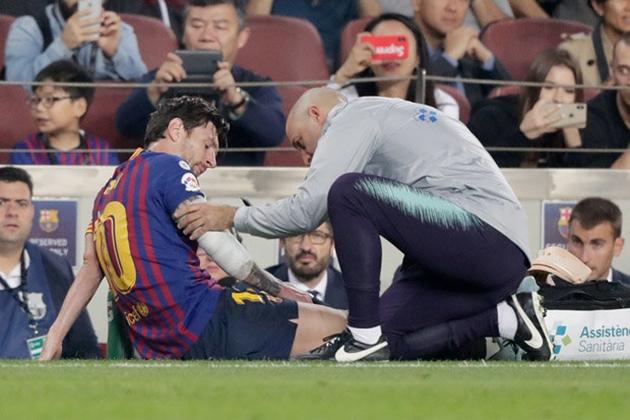Messi trở lại sân tập - Bóng Đá