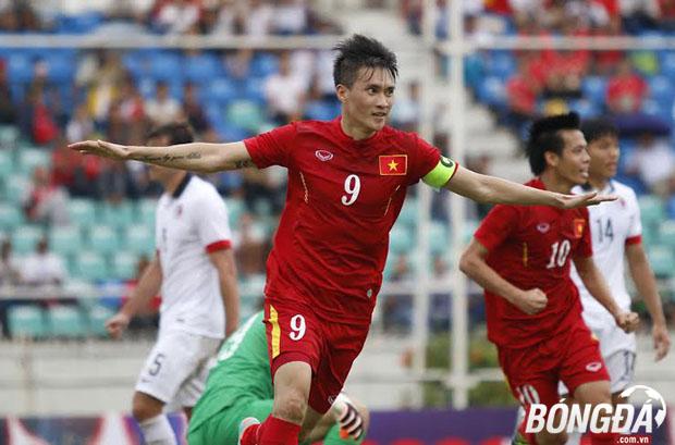 Công Vinh đang để lại rất nhiều dấu ấn trong màu áo ĐT Việt Nam. Ảnh: Gia Minh.