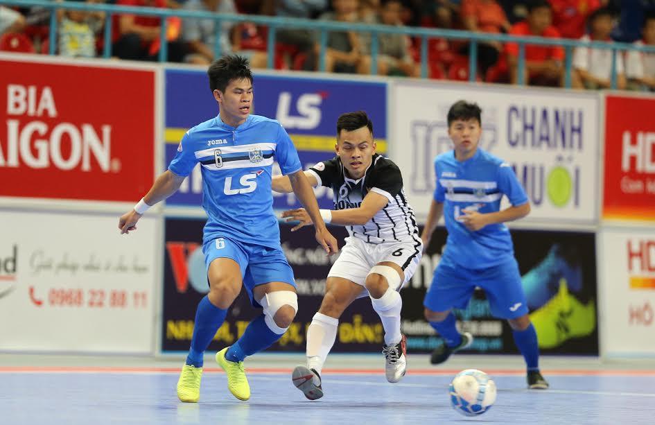 Vòng 15 giải futsal VĐQG 2017: Khánh Hòa thắng kịch tính, Thái Sơn Bắc chia điểm khó tin - Bóng Đá