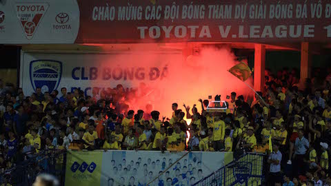 Để khán giả đốt pháo sáng, FLC Thanh Hóa bị phạt 20 triệu đồng - Bóng Đá