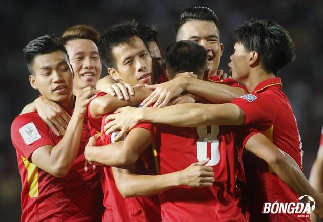 ĐT Việt Nam xếp trên Thái Lan 17 bậc ở BXH FIFA tháng 10/2017 - Bóng Đá