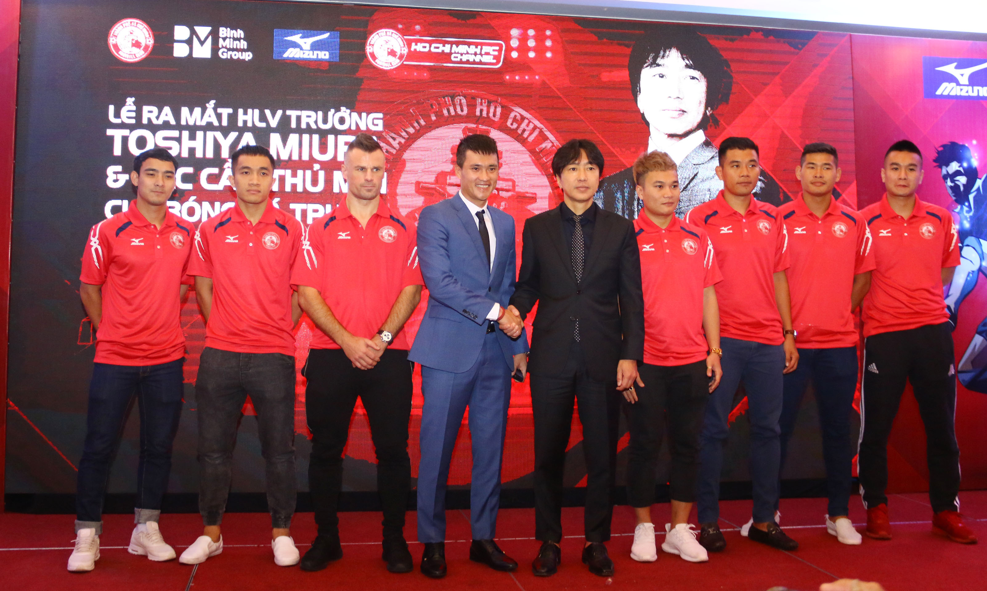 """Công Vinh ra  mắt """"siêu bom tấn"""" mùa giải mới V-League 2018 - Bóng Đá"""