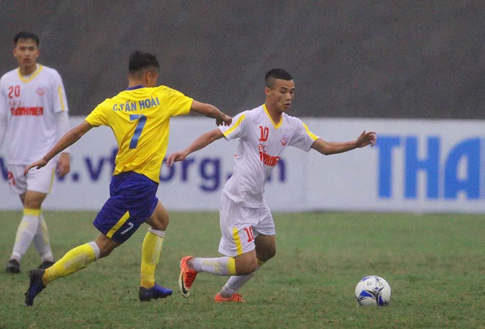 """VCK U19 Quốc gia 2018: ĐKVĐ Hà Nội """"chết hụt"""" trước Đồng Tháp - Bóng Đá"""