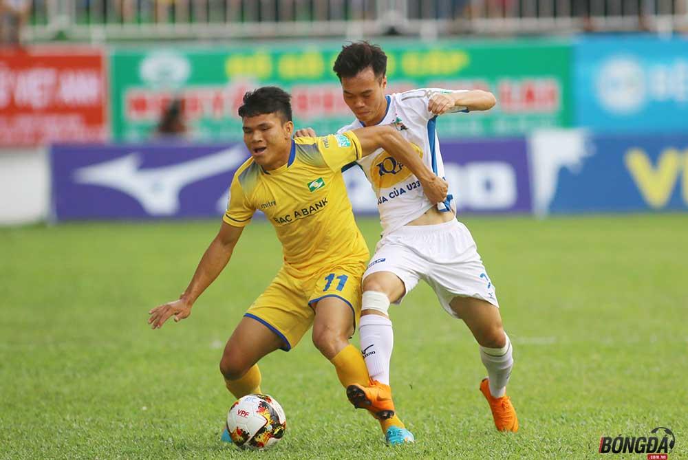 Vòng 20 V-League: U23 Việt Nam