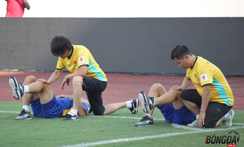 U23 Việt Nam tập gì trước trận đấu gặp U23 Palestine - Bóng Đá