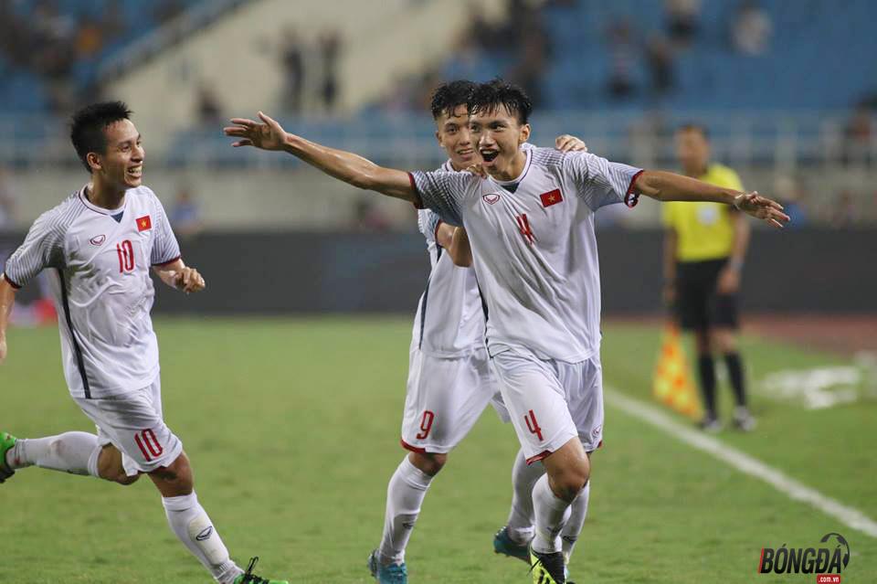 Văn Hậu lập siêu phẩm, U23 Việt Nam toàn thắng giải tứ hùng Quốc tế 2018 - Bóng Đá