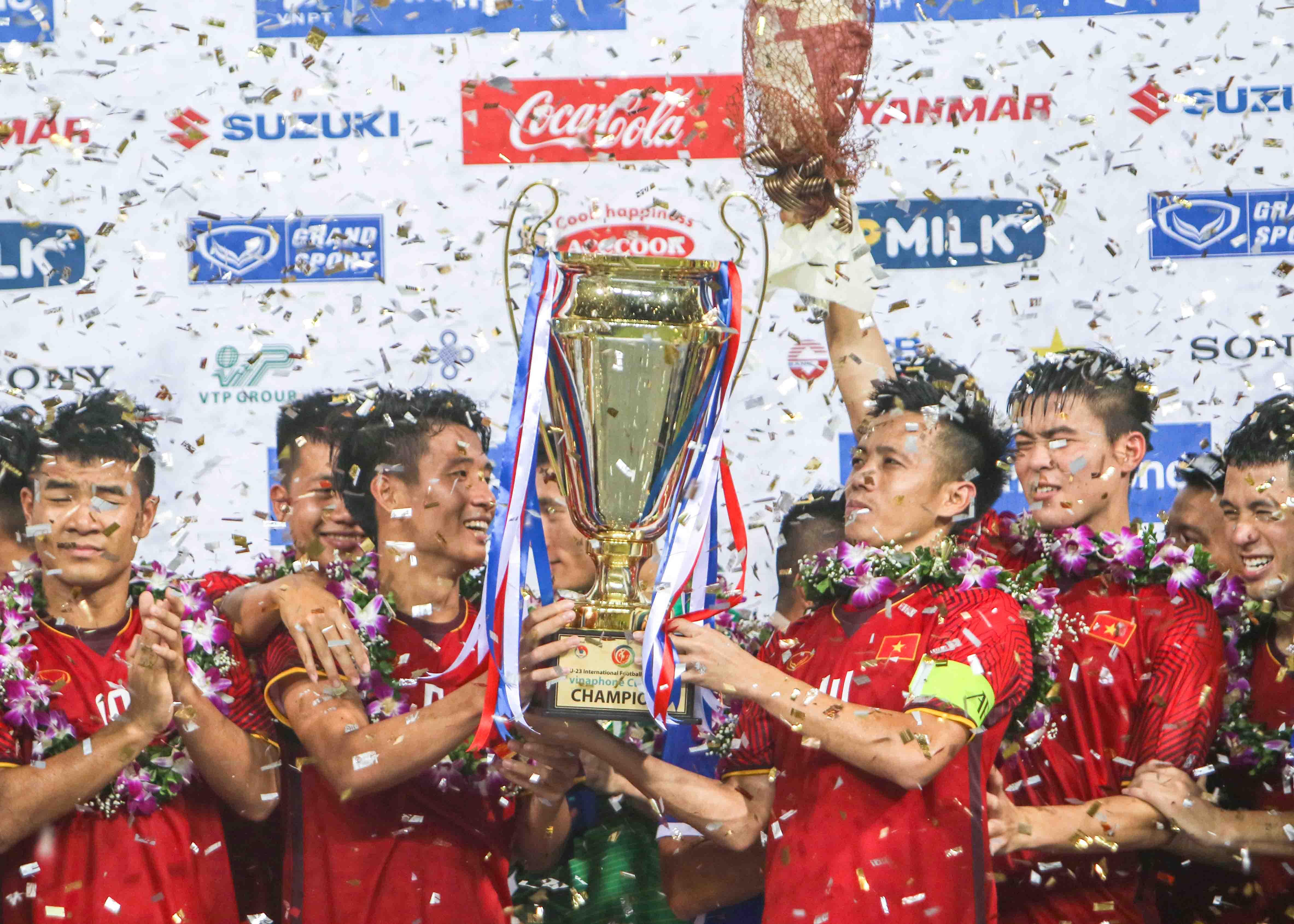 Cưa điểm với Uzbekistan, U23 Việt Nam vô địch giải tứ hùng với thành tích bất bại - Bóng Đá