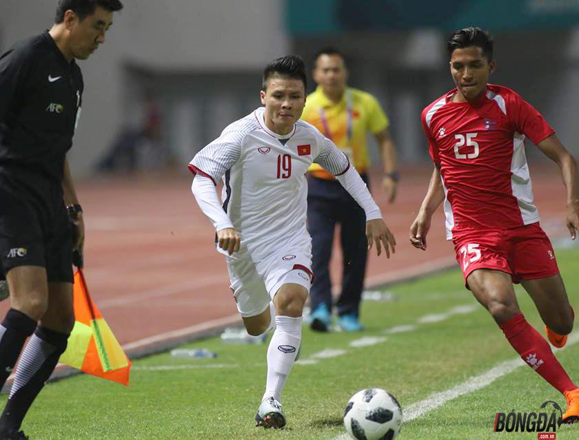TRỰC TIẾP U23 Việt Nam 0-0 U23 Nepal (H1): Anh Đức đánh đầu nguy hiểm - Bóng Đá