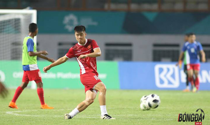 TRỰC TIẾP U23 Việt Nam 0-0 U23 Nepal (H1): Tiến Dũng đeo băng đội trưởng, Xuân Trường - Công Phượng dự bị - Bóng Đá