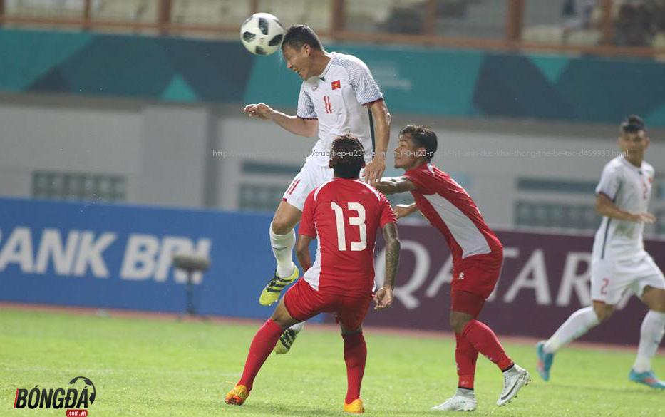 """Song Đức """"nổ súng"""", U23 Việt Nam chính thức vào vòng knock-out ASIAD 2018 - Bóng Đá"""