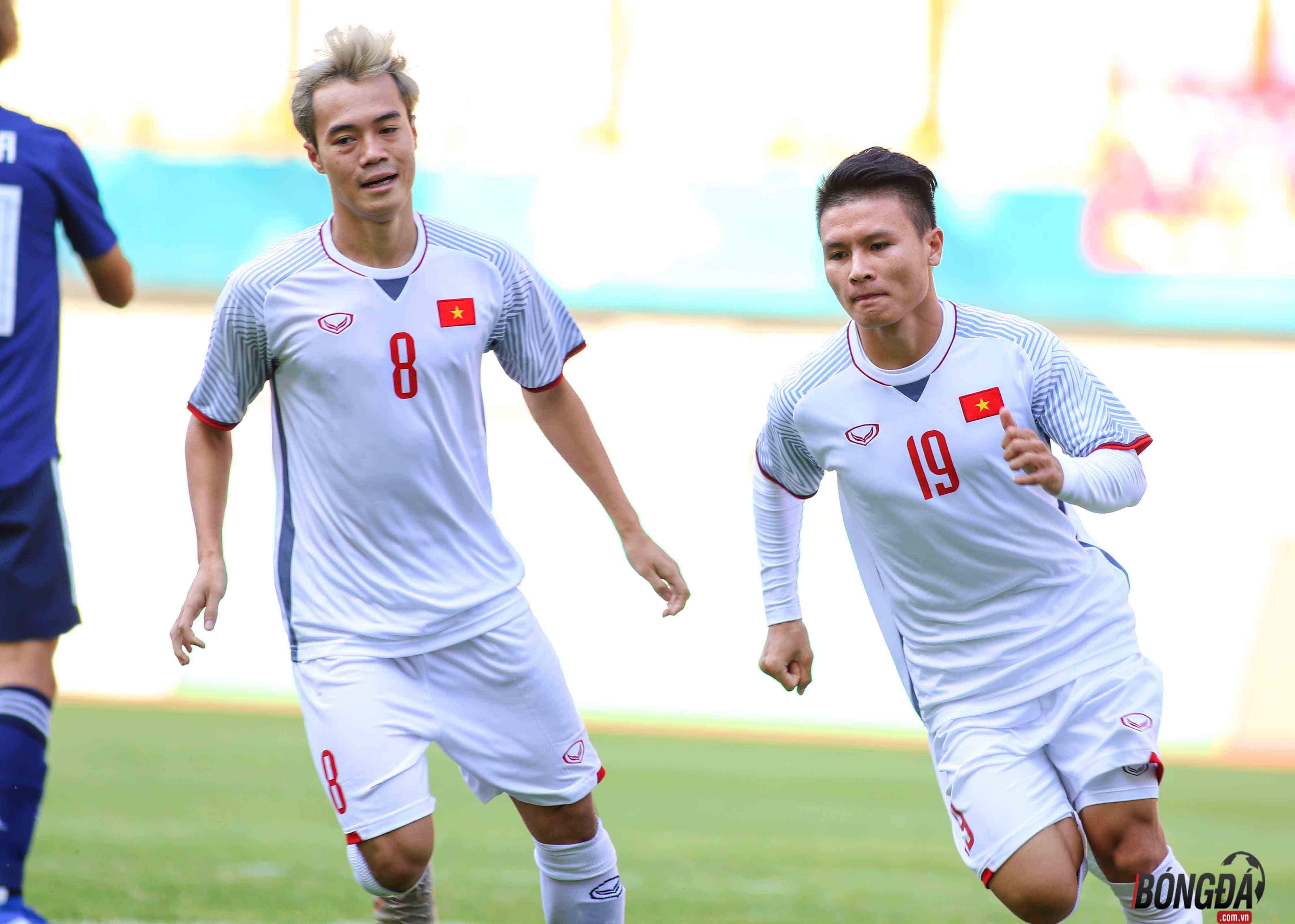 """Quang Hải """"nổ súng"""" U23 Việt Nam thắng sát nút Nhật Bản - Bóng Đá"""