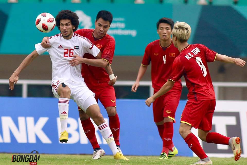 TRỰC TIẾP U23 Việt Nam 1-1 U23 UAE (HIỆP 1): Nỗ lực tìm kiếm bàn thắng - Bóng Đá