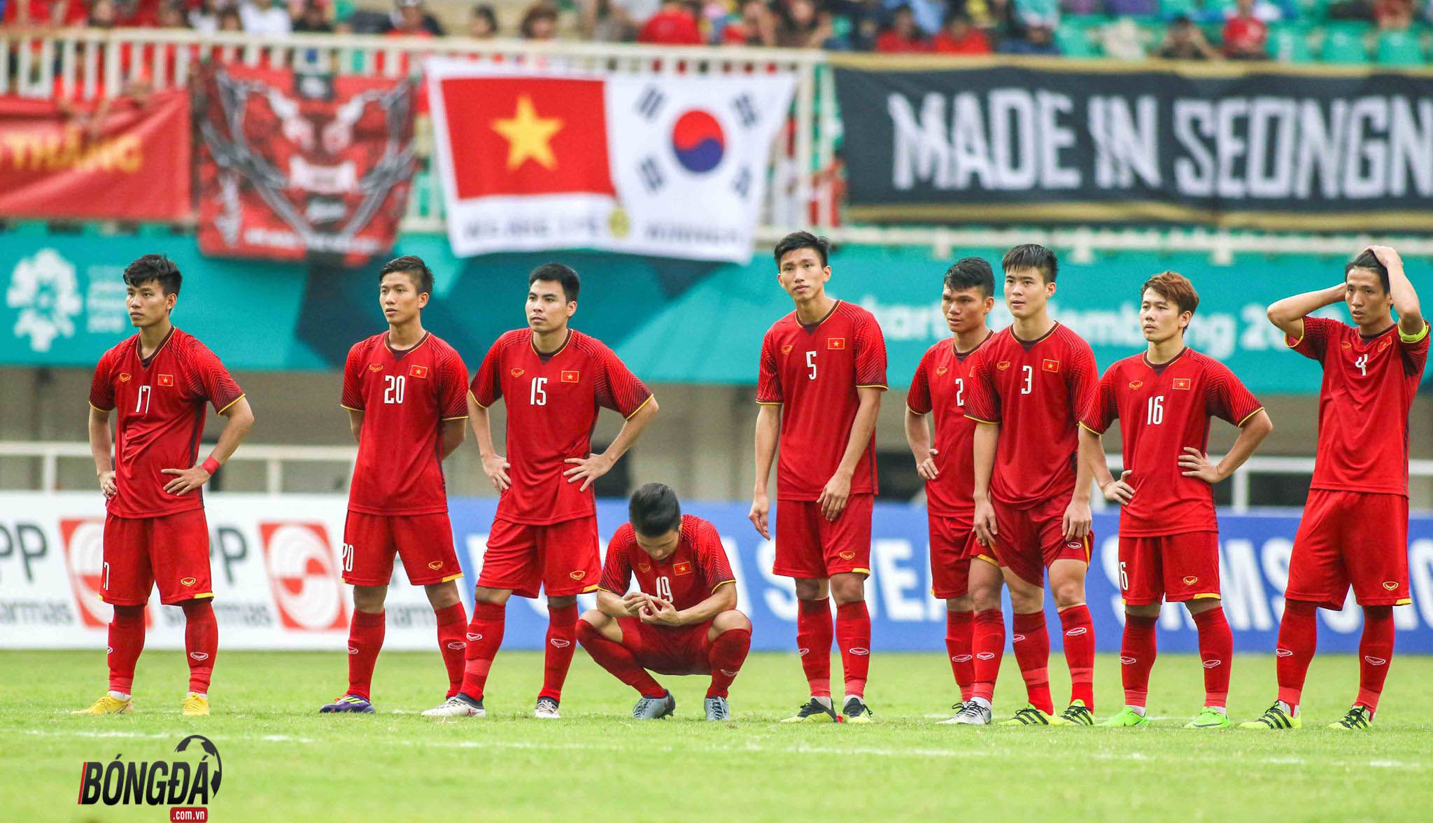 Kỷ niệm khó quên của U23 Việt Nam tại ASIAD 2018 - Bóng Đá