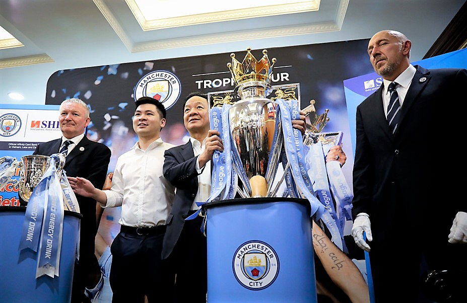Bầu Hiển úp mở khả năng đưa Man City đến Việt Nam lần thứ hai - Bóng Đá
