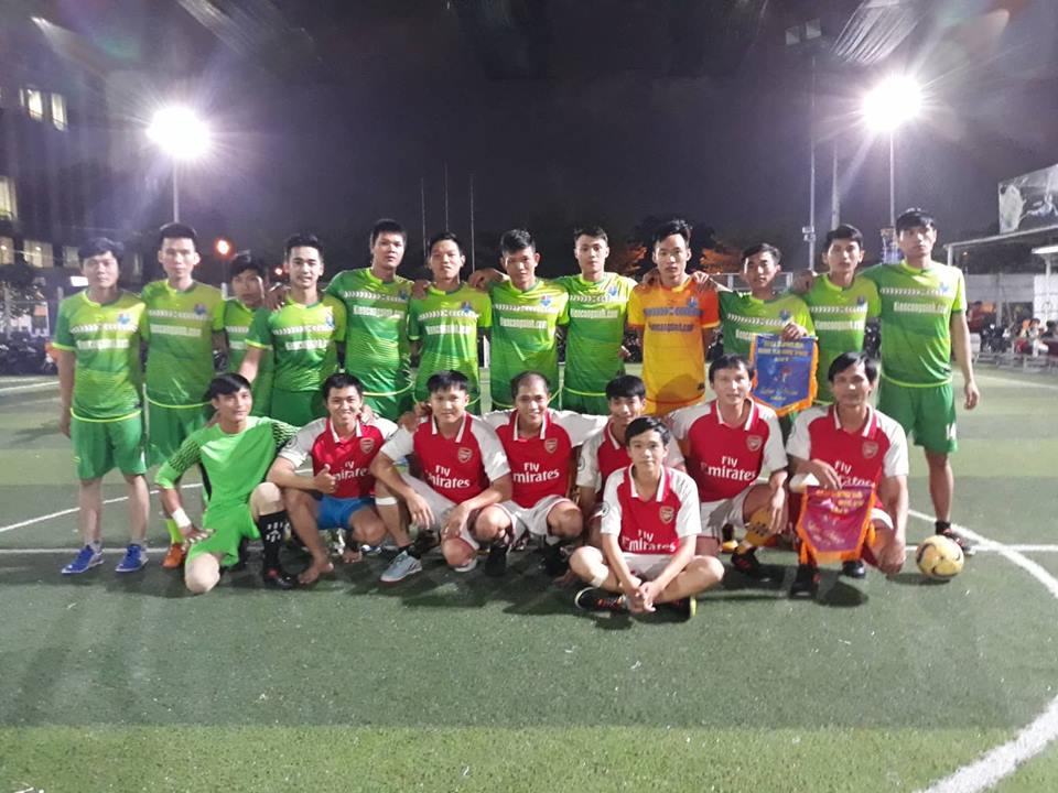 Phước Vĩnh FC vô địch giải hội đồng hương Đức Phú - Bóng Đá