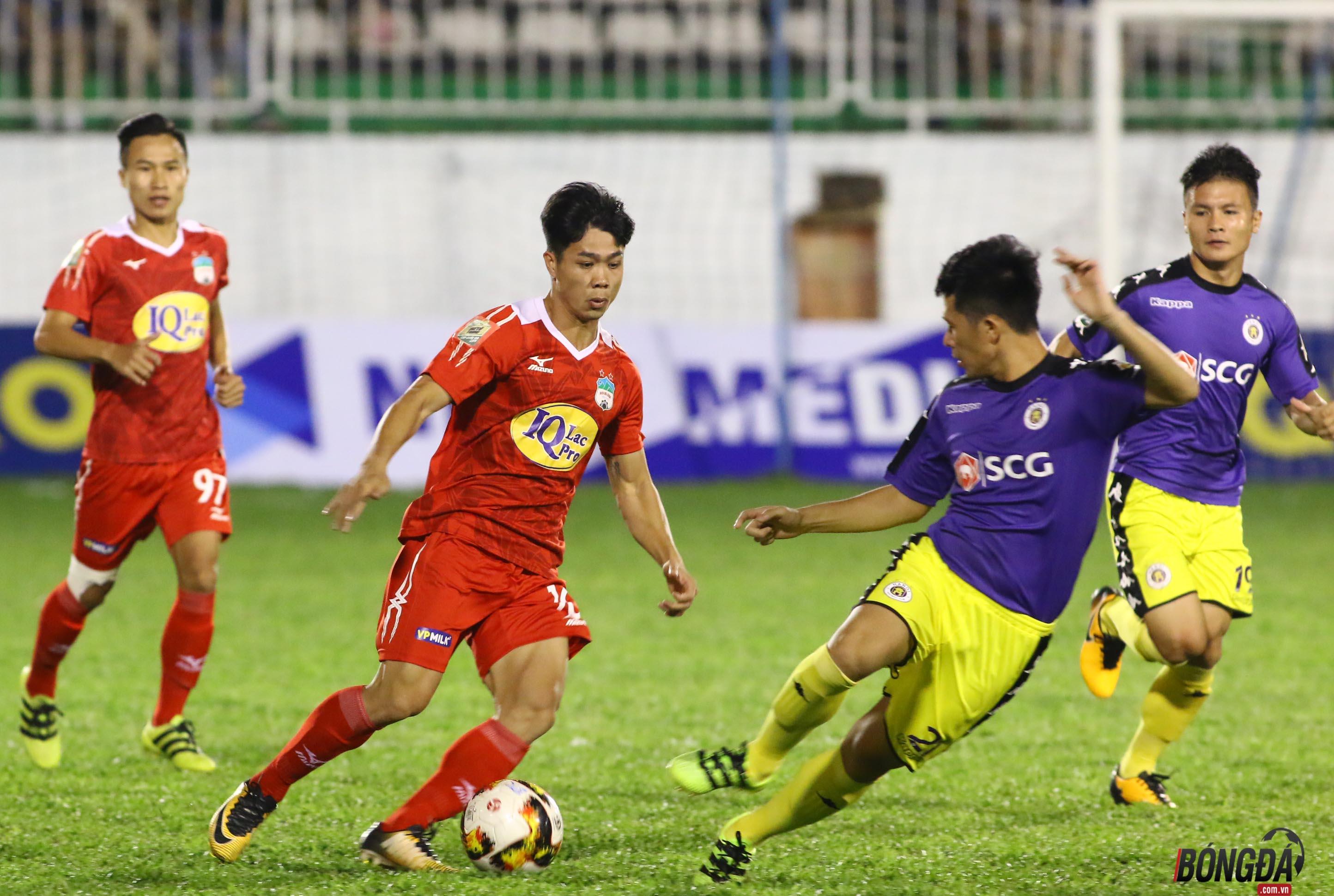 TRỰC TIẾP HAGL 2-4 Hà Nội FC (HIỆP 2): Công Phượng rút ngắn tỉ số - Bóng Đá