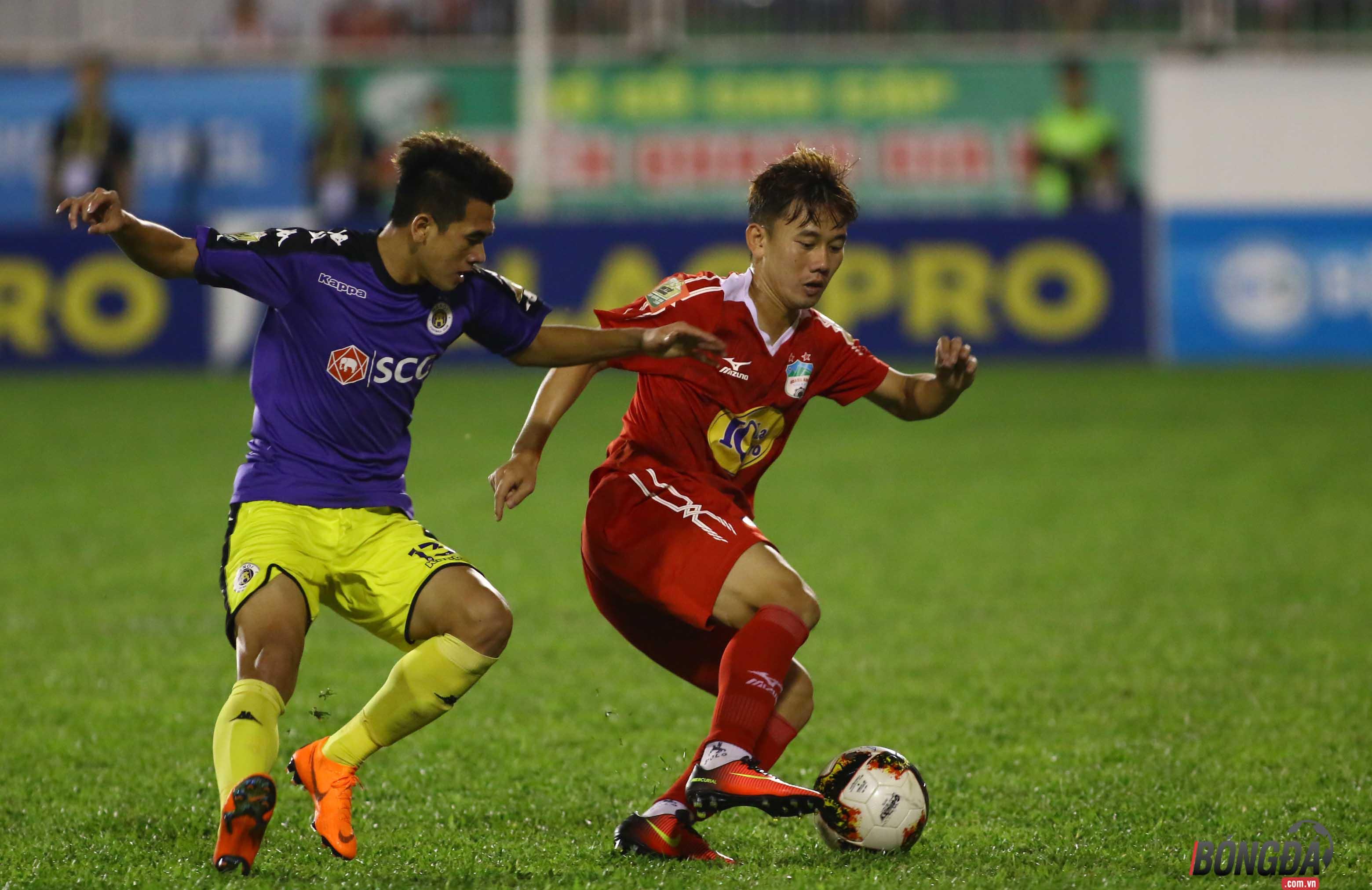 TRỰC TIẾP HAGL 1-4 Hà Nội FC (HIỆP 2): HAGL có bàn danh dự - Bóng Đá
