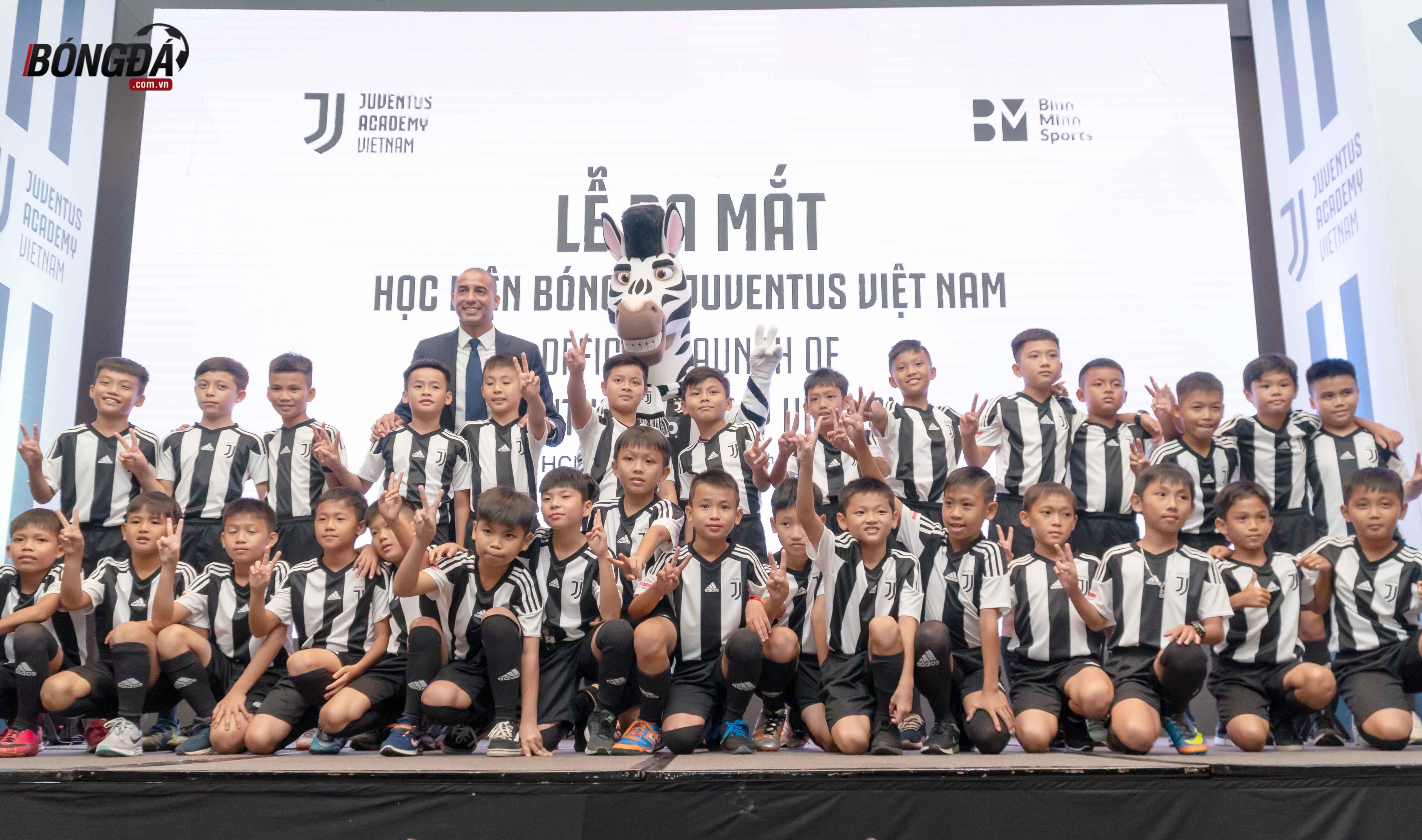 Ronaldo gửi lời nhắn đặc biệt đến học viện Juvetus tại Việt Nam - Bóng Đá
