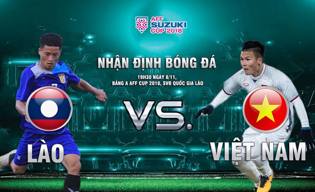 19h30 ngày 8/11 ĐT Lào vs ĐT Việt Nam: Khai hội tưng bừng trên đất khách - Bóng Đá