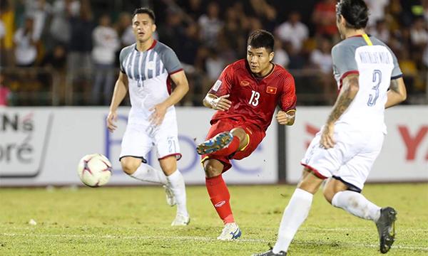 TRỰC TIẾP: Philippines 1-2 ĐT Việt Nam (H2): Công Phượng vào sân đá cặp với Đức Chinh - Bóng Đá