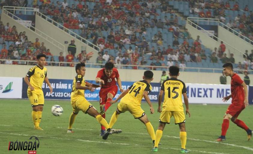 Ảnh: Không khí U23 Việt Nam vs Brunei - Bóng Đá