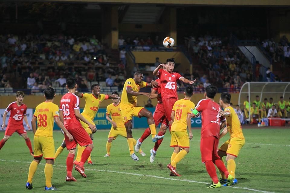 Trực tiếp Viettel 0-0 Nam Định (H2): Chủ nhà tấn công tổng lực - Bóng Đá