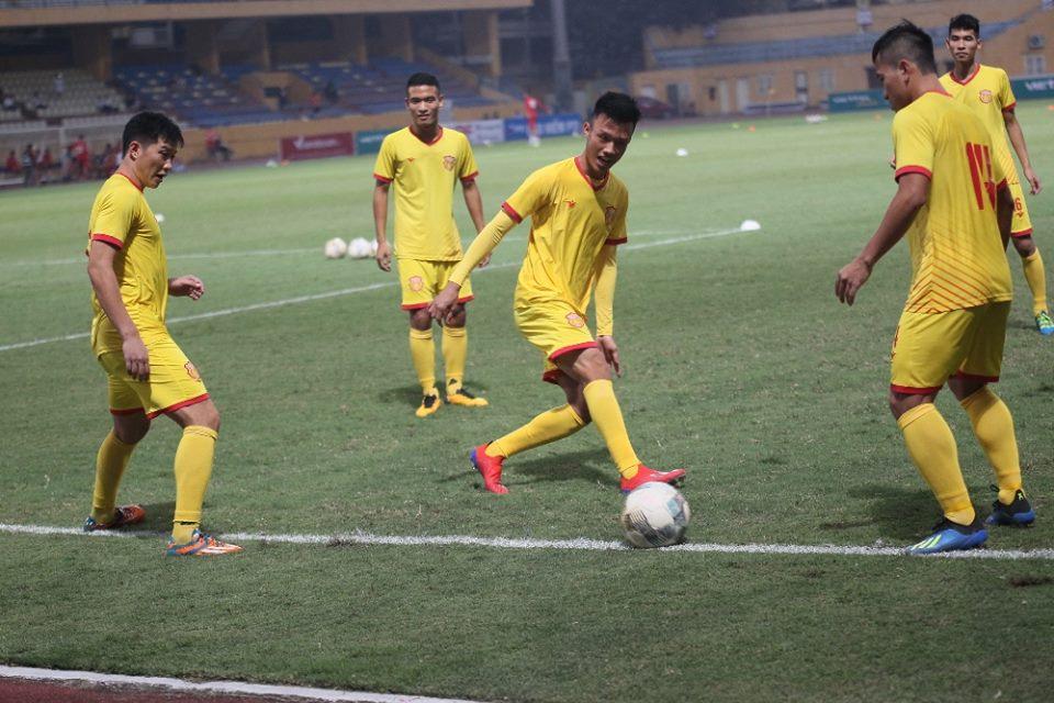 Trực tiếp Viettel 0-0 Nam Định: Tìm kiếm cơ hội để đào thoát - Bóng Đá