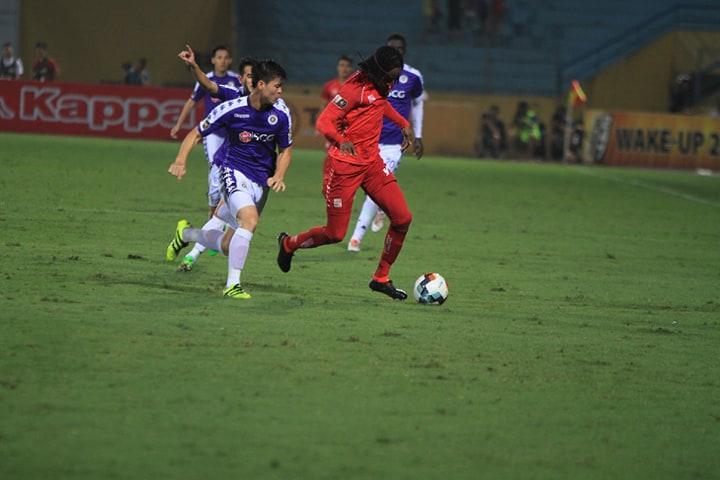 Trực tiếp Hà Nội FC 0-1 Hải Phòng (H2): Hoài Dương đánh đầu ghi bàn  - Bóng Đá