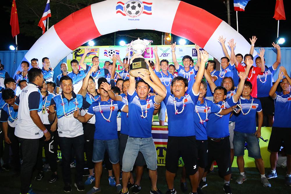 Thiên Long vô địch giải lão tướng tại Thái Lan - Bóng Đá