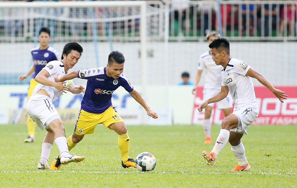 Vòng 17 V-League 2019: Hà Nội tìm lại bản sắc, HAGL khẳng định thương hiệu ở phố núi - Bóng Đá