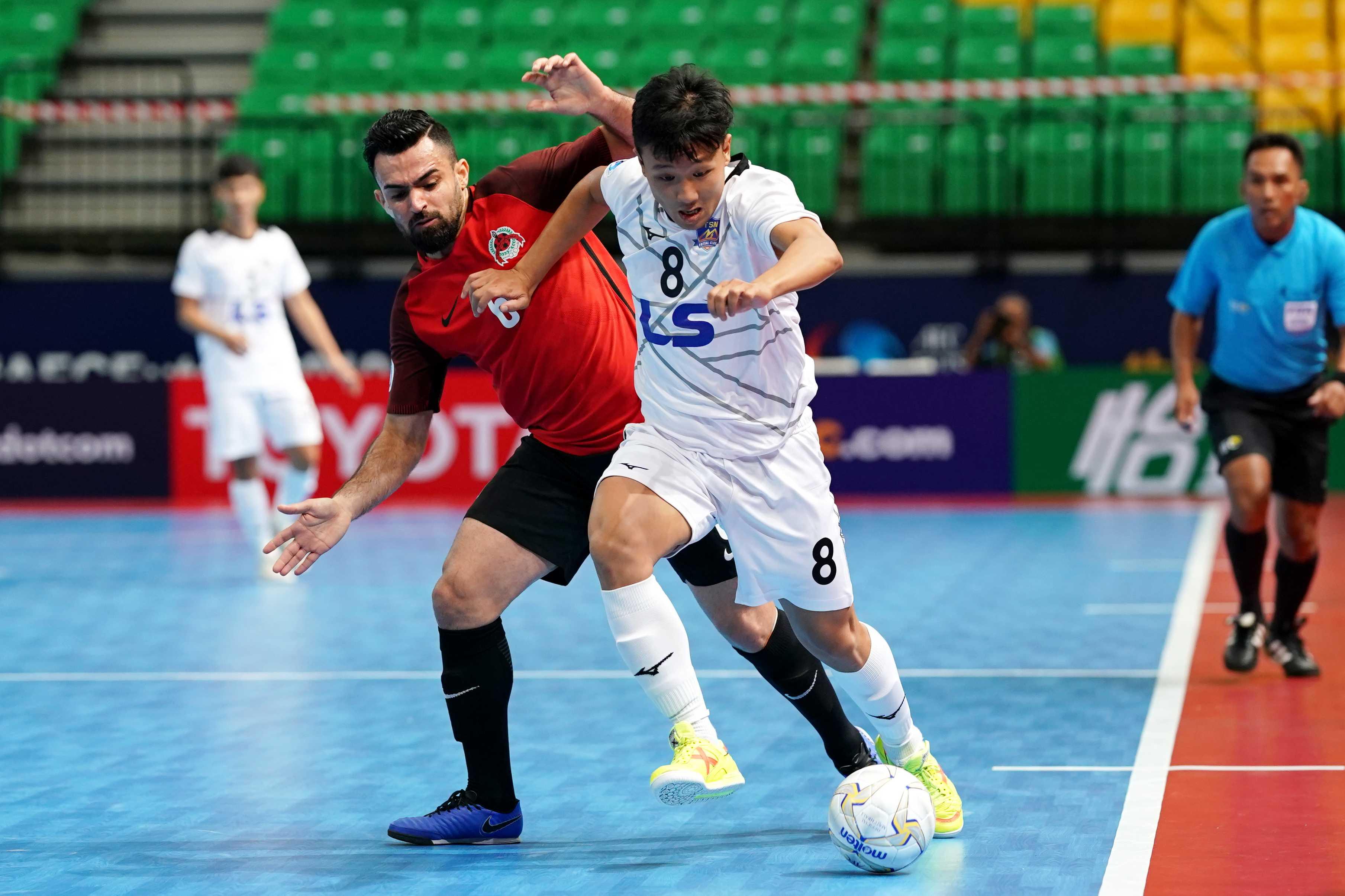 Ngược dòng ấn tượng, Thái Sơn Nam toàn thắng giải futsal châu Á - Bóng Đá