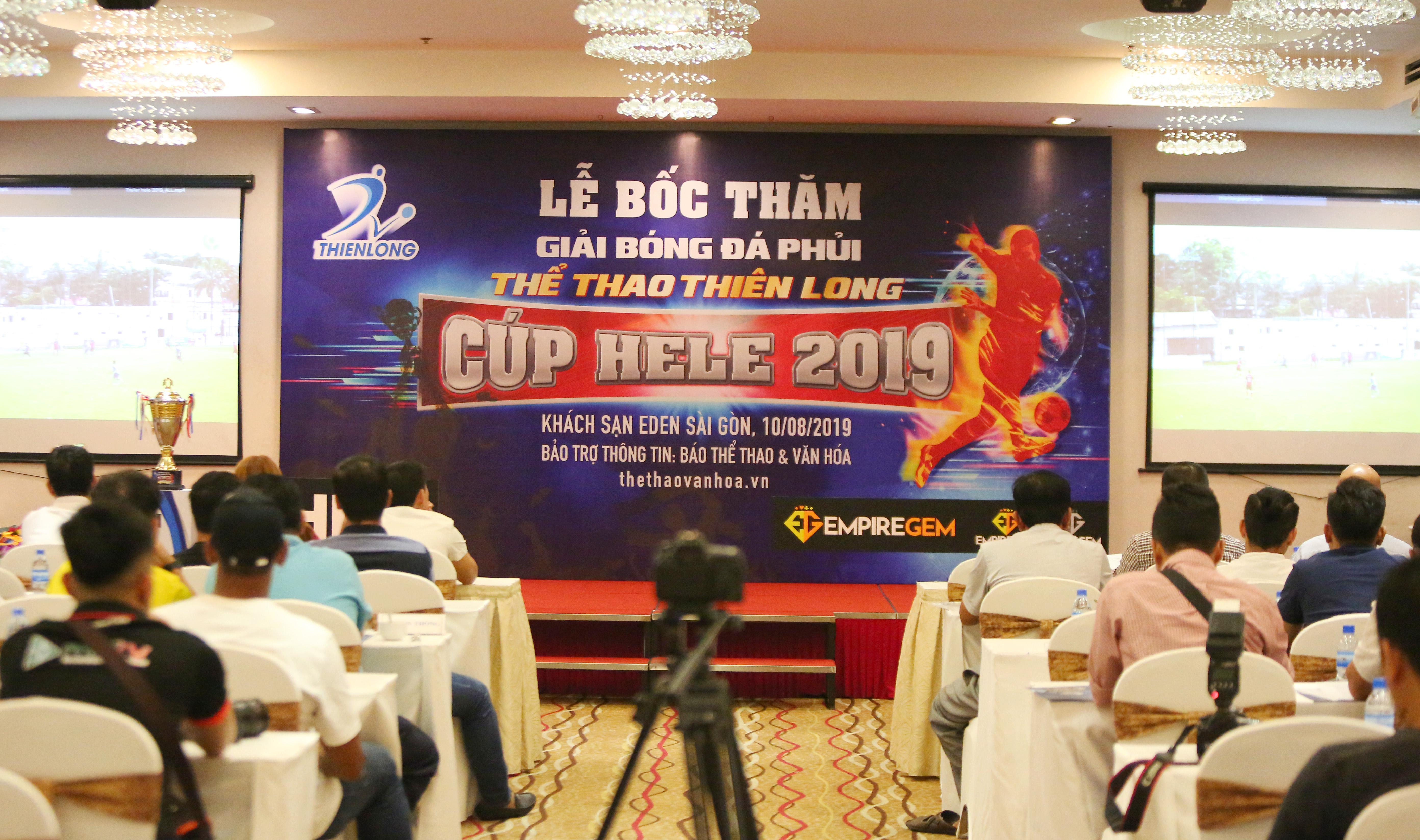 8 đội bóng phủi hàng đầu Sài thành tranh tài giải Thể thao Thiên Long 2019 - Bóng Đá