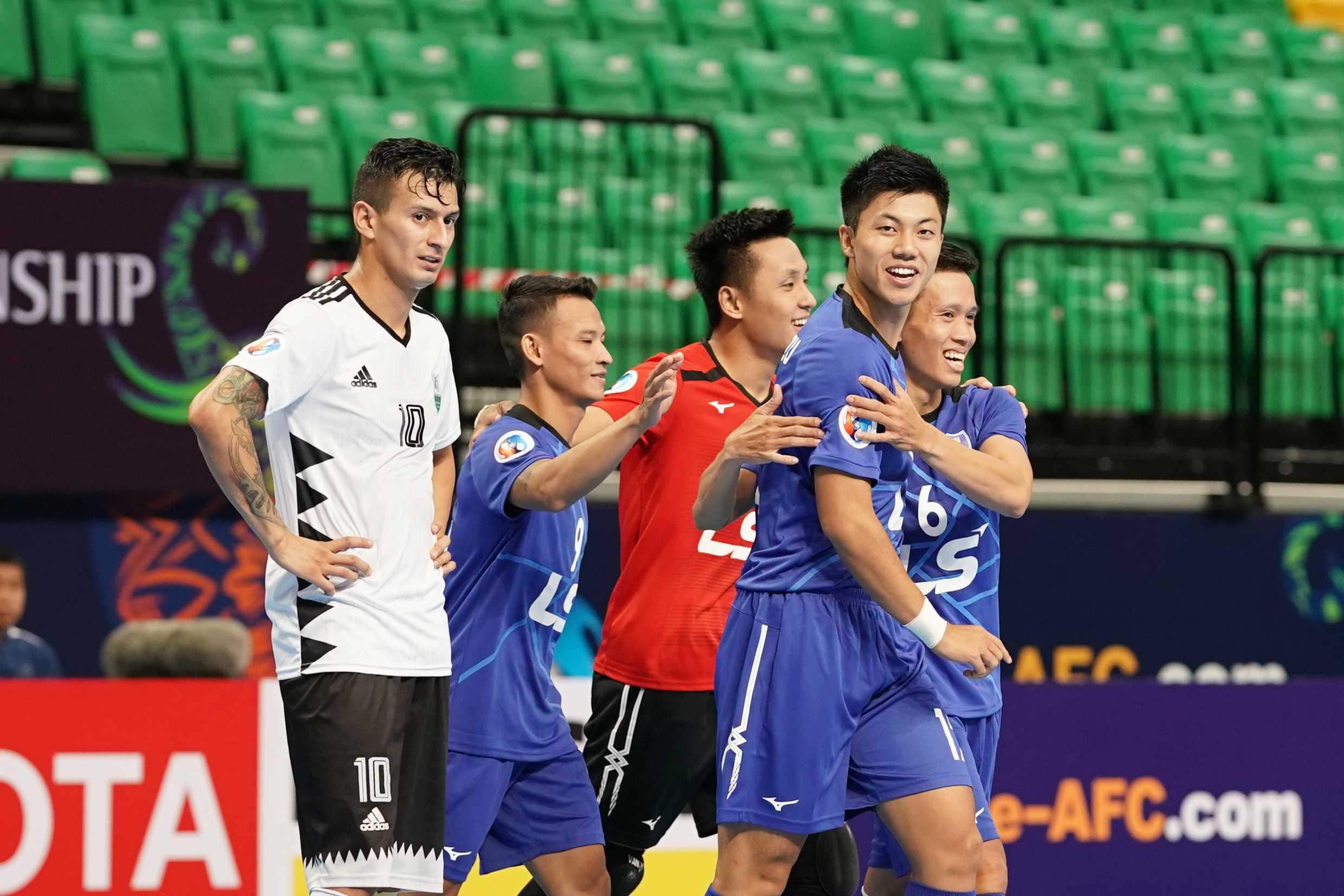 Giải futsal châu Á 2019: Thái Sơn Nam vào tứ kết với 3 trận toàn thắng - Bóng Đá
