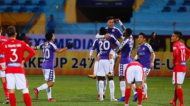 Đá bại Nam Định, Hà Nội FC sẵn sàng cho mục tiêu giành cúp ăn ba? - Bóng Đá