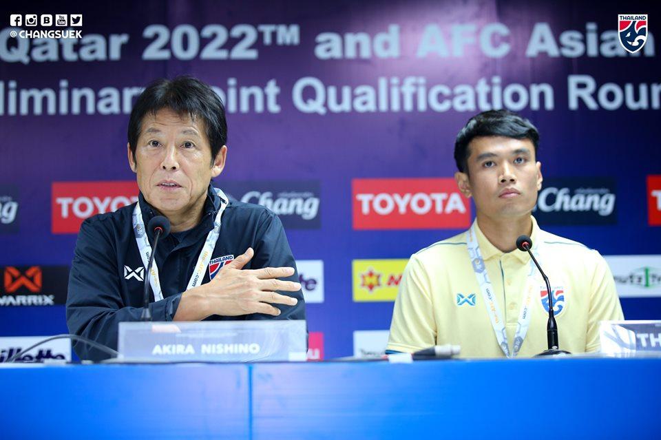 Đội tuyển Thái Lan nhận hung tin trước