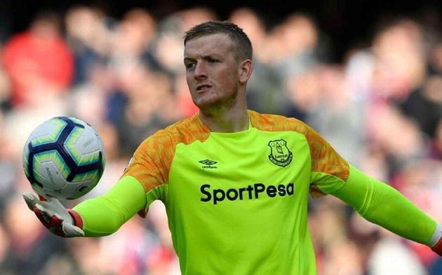 Everton chính thức gia hạn thành công với thủ môn ĐT Anh - Bóng Đá