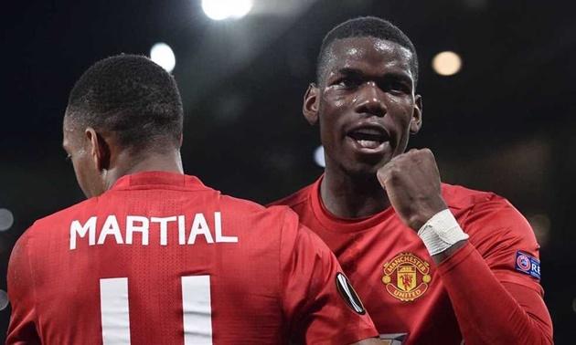 Pogba và Martial chắp cánh cho khát vọng của Mourinho - Bóng Đá