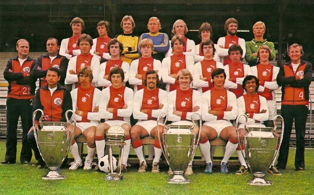 Ajax Amsterdam: Sống lại những ngày từ quá khứ - Bóng Đá