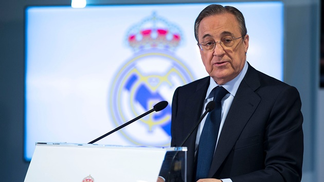 Sự tổn thương của Real Madrid khiến Perez 'hóa điên' trên TTCN - Bóng Đá